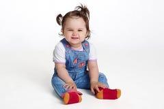 Lächelndes kleines Mädchen Stockfotos