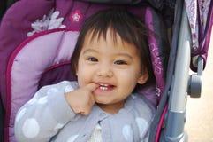 Lächelndes Kleinkind Lizenzfreies Stockbild
