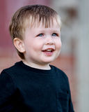 Lächelndes Little Boy Stockbild