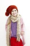 Lächelndes Mädchen 10 Jahre alt Lizenzfreies Stockfoto