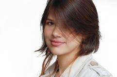 Lächelndes Mädchen Stockfoto