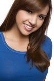 Lächelndes Mädchen lizenzfreie stockfotografie