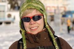 Lächelndes Mädchen #2010-02-01 Stockfoto