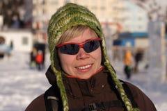 Lächelndes Mädchen #2010-02-01 Lizenzfreie Stockfotos