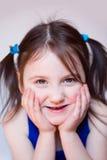 Lächelndes Mädchen Lizenzfreies Stockbild