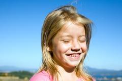 Lächelndes Mädchen Stockbilder