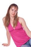 Lächelndes Mädchenportrait Lizenzfreies Stockbild