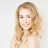 Lächelndes Mode-Modell Lizenzfreies Stockbild