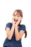 Lächelndes nettes Mädchen Stockbilder