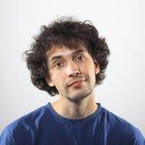 Lächelndes Porträt des jungen Mannes Lizenzfreies Stockbild