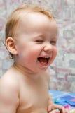 Lächelndes Schätzchen Lizenzfreies Stockfoto