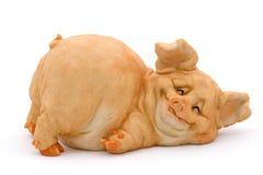 Lächelndes Schwein Stockfotografie