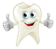 Lächelndes Zahnmaskottchen Lizenzfreies Stockfoto