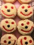 Lächelndonut Lizenzfreies Stockfoto