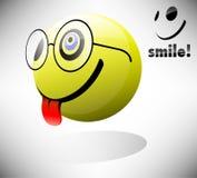 LächelnEmoticon Lizenzfreie Stockbilder