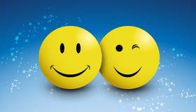 Lächelnsterne Lizenzfreie Stockfotos