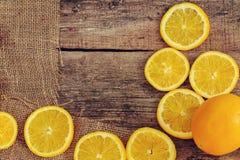 Läcker apelsin Arkivbilder