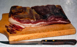 läcker bacon Royaltyfri Foto