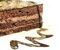 läcker cake Royaltyfri Bild