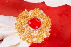 läcker cake Royaltyfri Fotografi