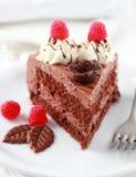 läcker cakechoklad Arkivfoto