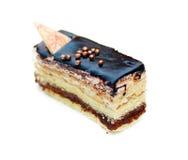 Läcker chokladkaka Fotografering för Bildbyråer