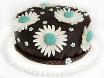 Läcker chokladtårta Royaltyfri Fotografi