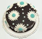 Läcker chokladtårta Arkivbilder