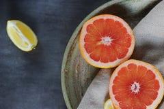 Läcker citrus arkivfoto