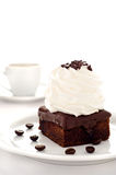 läcker efterrätt för choklad Royaltyfria Bilder