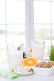 läcker frukost Arkivfoto