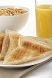 läcker frukost Arkivbilder