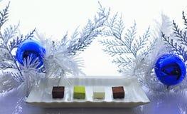 Läcker gourmet- choklad Arkivfoto