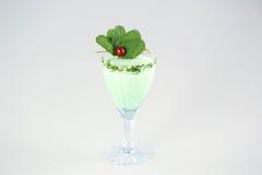 Läcker grön coctail Royaltyfri Fotografi