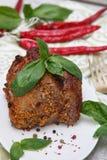 Läcker grillad meat Royaltyfri Fotografi