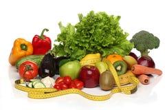 Läcker grupp av sunda grönsaker Royaltyfri Fotografi