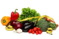 Läcker grupp av sunda grönsaker Royaltyfria Bilder