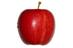 läcker isolerad white för äpple Arkivfoto