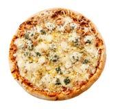 Läcker italienarepizza för fyra ostar Royaltyfri Fotografi