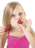 läcker jordgubbe Royaltyfria Bilder