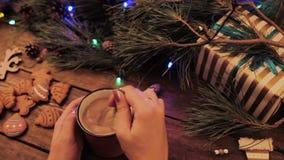 Läcker julferie med latte och kakor