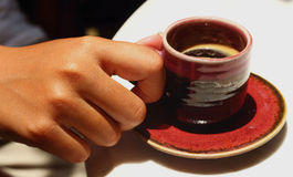 läcker kaffekopp Royaltyfri Bild
