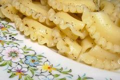 läcker macaroni Arkivfoton