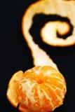 Läcker mandarin Fotografering för Bildbyråer