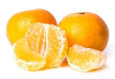 Läcker mandarin Arkivfoto