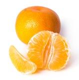 Läcker mandarin Arkivfoton