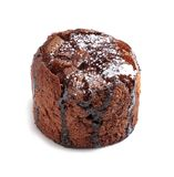 Läcker ny fondant med varm choklad royaltyfri bild