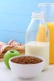 Läcker och sund frukost Royaltyfria Foton