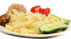 Läcker pastamatställe Arkivbild