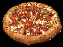 läcker pizza Arkivbild